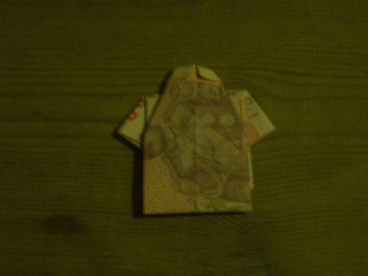 pengeskjorte bagfra