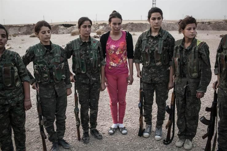 kurdiske kvinder
