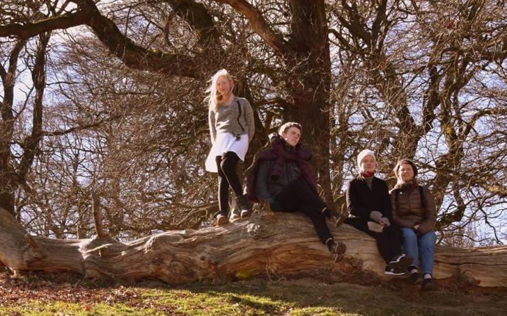 AC Andreas, Julie og Lea i Dyrehaven