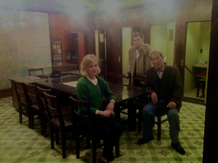 Hoa, Emeli,Lea i militærplanlægningsrum